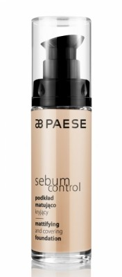 Тональный крем для комбинированной кожи Paese Sebum Control тон 401: фото