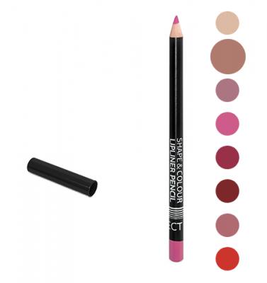 Карандаш для губ Shape&Colour Lipliner Pencil Long Lasting Affect Nude Beige: фото