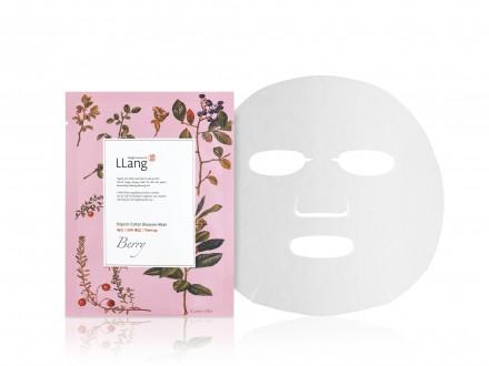 Тканевая маска с экстрактом ягод Llang, 20 мл: фото