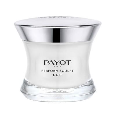 Ночное средство для моделирования овала лица и повышения упругости кожи Payot Perform Lift 50 мл: фото