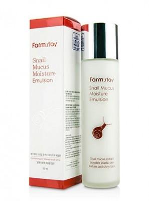 Эмульсия увлажняющая с экстрактом улитки FARMSTAY Snail mucus moisture emulsion 150 мл: фото