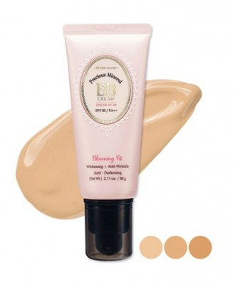 BB-крем минеральный ETUDE HOUSE Precious mineral BB-cream blooming fit SPF30 N02: фото