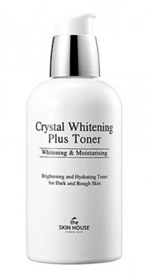 Тонер против пигментации THE SKIN HOUSE Crystal whitening plus toner 130мл: фото