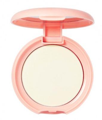 Пудра компактная с экстрактом персика SKINFOOD Peach Cotton Pore Sun Pact SPF42 №01 Clear: фото