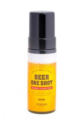 Тоник-эссенция увлажняющий с экстрактом пива SKINFOOD Beer One Shot Moisture Essence Toner For Men: фото