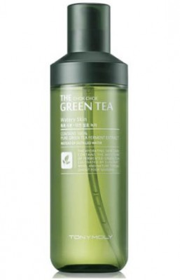 Тонер для лица TONY MOLY The chok chok green tea watery skin 180 мл: фото
