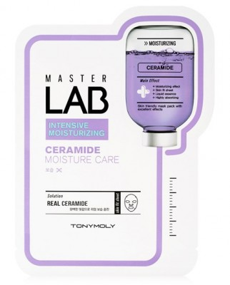 Тканевая маска с керамидами TONY MOLY Master Lab ceramide mask sheet 19г: фото