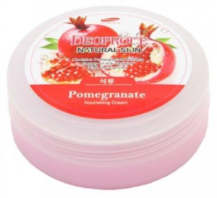 Крем для лица и тела с гранатом DEOPROCE Natural skin pomegranate nourishing cream 100г: фото