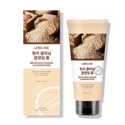 Пенка для умывания с экстрактом коричневого риса LEBELAGE 180мл: фото