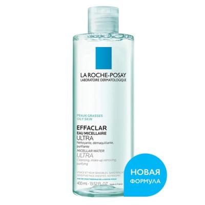 Мицеллярная вода La Roche-Posay Effaclar Ultra 400 мл: фото