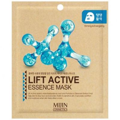 Маска для лица тканевая лифтинг эффект Mijin LIFT ACTIVE ESSENCE MASK 25гр: фото