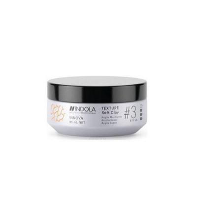 Глина для укладки Indola Texture Soft Clay 85 мл: фото