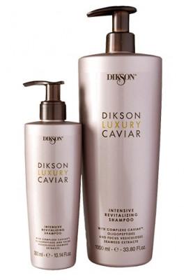 Шампунь интенсивный ревитализирующий с Complexe Caviar Dikson LUXURY CAVIAR shampoo 1000мл: фото