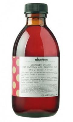 Шампунь АЛХИМИК для натуральных и окрашенных волос Красный Davines ALCHEMIC SHAMPOO for natural and coloured hair 280мл: фото