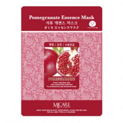 Маска тканевая гранат Mijin Pomegranate Essence Mask 23гр: фото