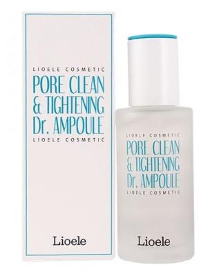 Сыворотка сужающая поры Lioele Pore Clean & Tightening Dr. Ampoule Pore Control 35г: фото