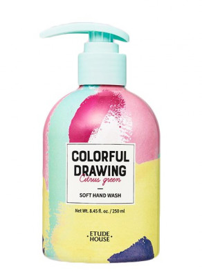 Жидкое мыло для рук ETUDE HOUSE COLORFUL DRAWING SOFT HAND WASH 250мл: фото