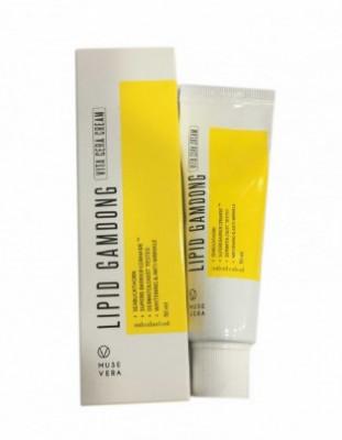 Крем осветляющий на основе натуральных экстрактов DEOPROCE MUSEVERA Lipid Gamdong Zinc Vita Cream 50мл: фото