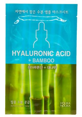 Маска тканевая для лица с гиалуроновой кислотой Holika Holika Hyaluronic acid Ampoule Essence Mask Sheet, 16 мл: фото