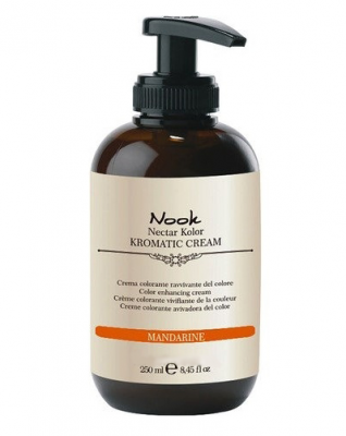 Крем-кондиционер оттеночный NOOK Nectar Color Kromatic Cream Мандариновый 250мл: фото