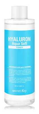 Тонер гиалуроновый SECRET KEY HYALURON Aqua Soft TONER 500 мл: фото