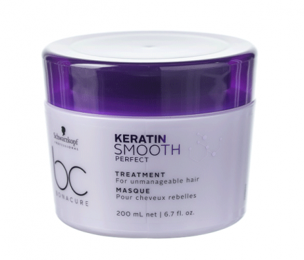 Маска для непослушных волос Schwarzkopf Professional BC Keratin Smooth Perfect 200 мл: фото