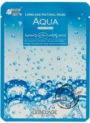 Тканевая маска увлажняющая с морской водой LEBELAGE Aqua Natural Mask: фото