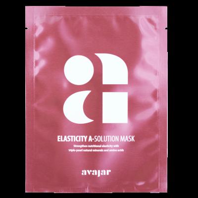 Маска тканевая для повышения эластичности кожи Avajar Elasticity A-Solution Mask 25г*10шт: фото