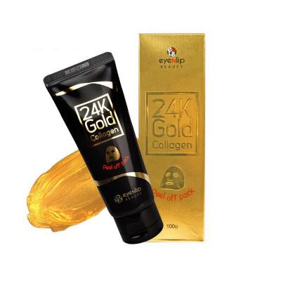 Маска-пленка очищающая с 24к золотом Eyenlip 24K GOLD COLLAGEN PEEL OFF PACK 100г: фото