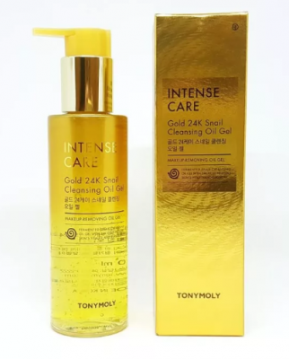 Гель-масло очищающий Tony Moly Intense Care Gold 24K Snail Cleansing Gel 190мл: фото