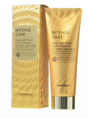 Пенка для умывания Tony Moly Gold 24K Snail Foam Cleanser 150 мл: фото