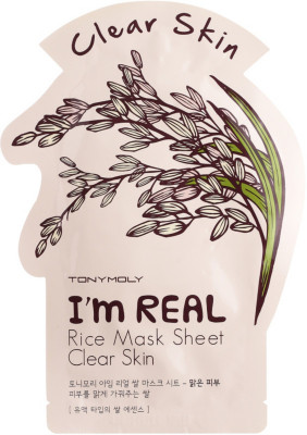 Маска с экстрактом риса Tony Moly I'm Rice Mask Sheet 21 мл: фото