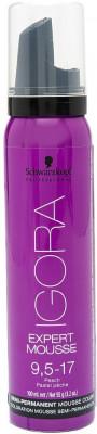 Тонирующий мусс для волос Schwarzkopf Professional Igora Expert Mousse 9,5-17 100 мл: фото