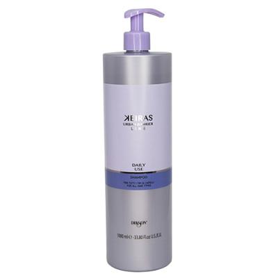 Шампунь ежедневный Dikson KEIRAS Daily Use shampoo FOR ALL HAIR TYPES 1000мл: фото