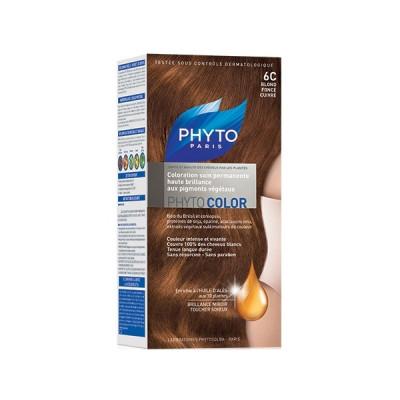 Краска для волос Phytosolba Phyto COLOR 6С Темный медный блонд СДВОЙКА: фото