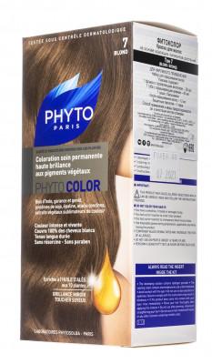 Краска для волос PHYTOSOLBA PHYTO COLOR 7 Блонд СДВОЙКА: фото