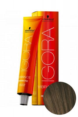 Крем-краска Schwarzkopf professional Igora Vibrance 5-0 Светлый коричневый натуральный 60 мл: фото