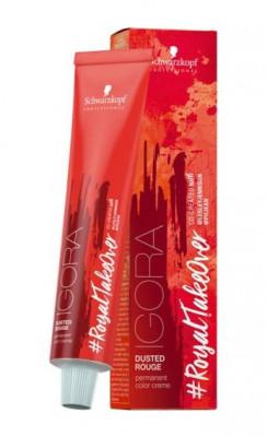 Крем-краска Schwarzkopf professional Igora Royal Take Over Dusted Rouge 5-869 светлый коричневый красный шоколадно-фиолетовый 60 мл: фото