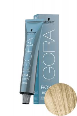 Крем-краска осветляющая Schwarzkopf professional Igora Royal HighLifts 12-0 Специальный блондин натуральный 60 мл: фото