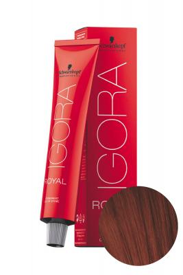 Крем-краска перманентная Schwarzkopf professional Igora Royal 5-88 Светлый коричневый красный экстра 60 мл: фото