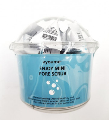 Скраб для лица AYOUME ENJOY MINI PORE SCRUB 3г*30: фото