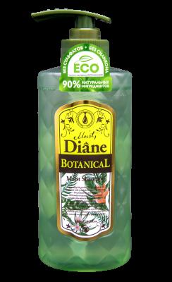 Шампунь увлажняющий без сульфатов и силикона Moist Diane Botanical Moist 480 мл: фото