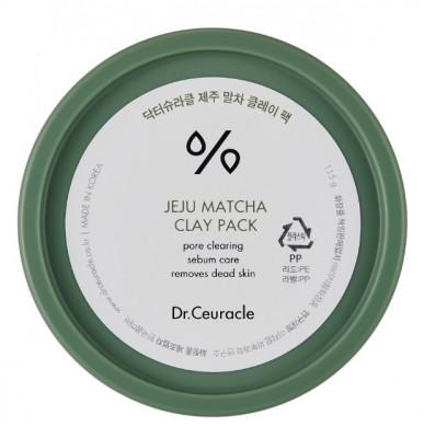 Глиняная маска для лица с матчей Dr.Ceuracle Matcha Clay Pack 115 г: фото