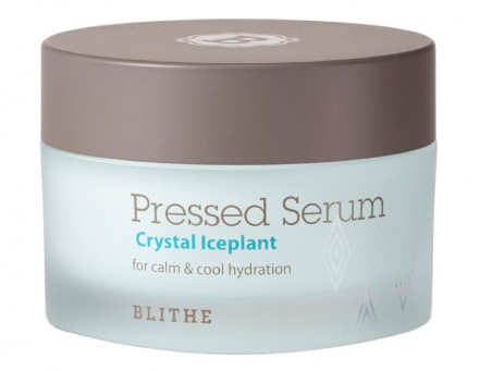 Сыворотка спрессованная восстанавливающая BLITHE Pressed Serum Crystal Ice Plant 50 мл: фото