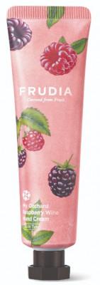 Крем для рук питательный с малиной Frudia My Orchard Ruspberry Wine Hand Cream 30 г: фото