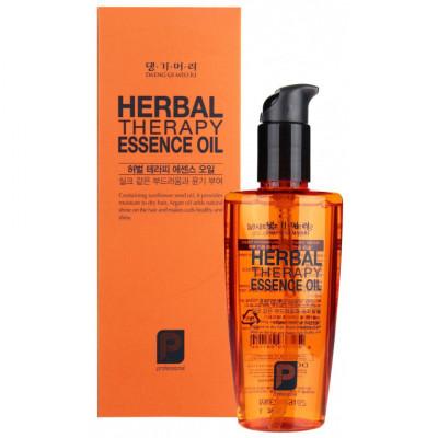 Масло для волос на основе целебных трав Daeng Gi Meo Ri Professional Herbal therapy essence oil 140мл: фото