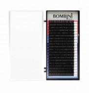 Ресницы Bombini Черные, 20 линий, D, 0.07, 8: фото