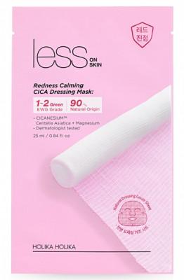 Маска марлевая успокаивающая Less on Skin Redness Calming Cica Dressing Mask 25 мл: фото