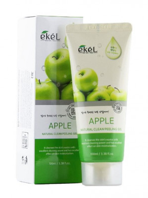 Пилинг-гель для лица с экстрактом яблока Ekel Peeling Gel Apple 100 мл: фото