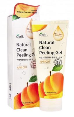 Пилинг для лица с экстрактом абрикоса Ekel Peeling Gel Apricot 180 мл: фото